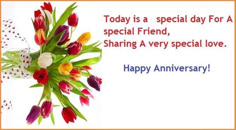 Wedding Anniversary Wishes For Friends ? Anniversary