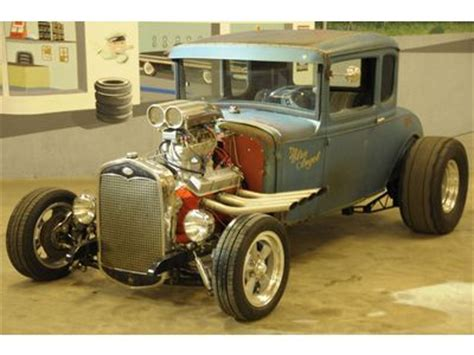 find used 1930 ford model a coupe x 50s drag car rat