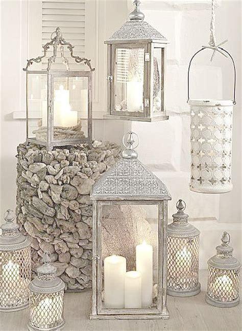 candele da arredamento copri lanterne all uncinetto stile shabby il