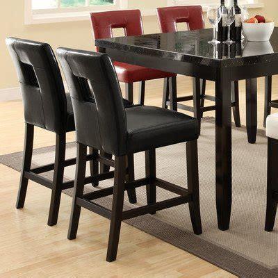upholstery newcastle newcastle stool set of 2 upholstery black viketasy