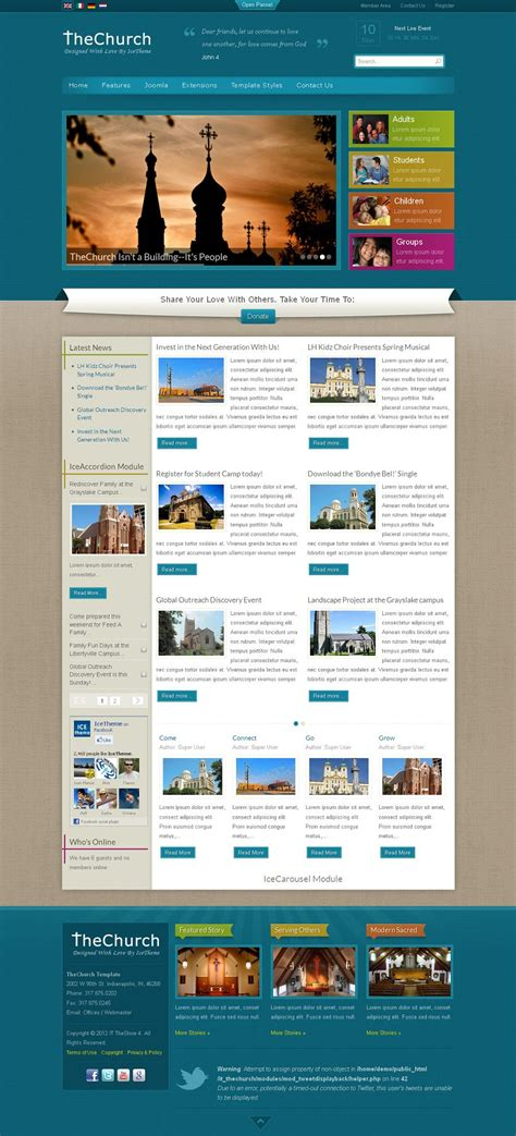 joomla church template joomla church templates photos exle resume