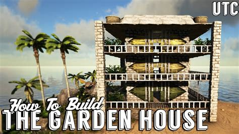 ark boat house tutorial ark garden house ark build guide stuctures plus