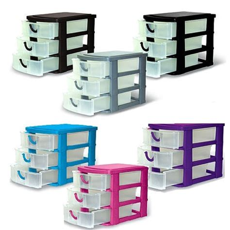 3 Drawer Organizer by Home Collections 3 Drawer Mini Organizer Storage Choice