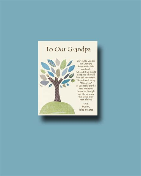 gifts for granddaughters grandfather gift personalized gift for gift from