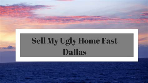 we buy ugly houses dallas sell my ugly house dallas texas archives we buy houses dallas dfw quot as is quot call