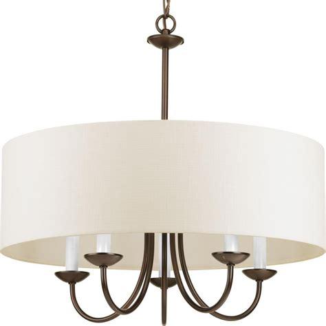 large drum shade chandelier light fixtures design ideas