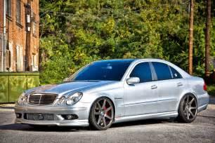 Mercedes W211 Mercedes W211 E55 Amg Vossen Wheels Benztuning