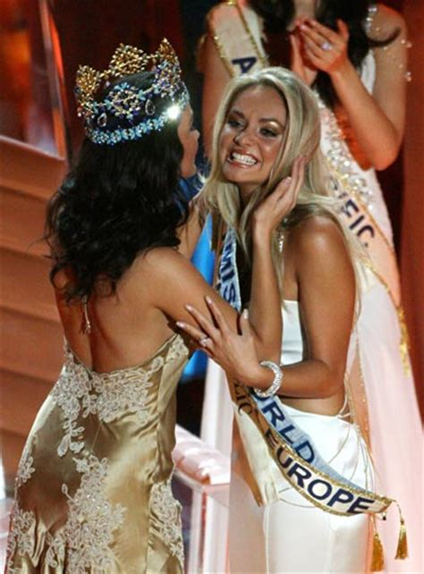 Tatana Kucharova Miss Crowned Miss World 2006 Pageant 2 by Pageantcast News Desk Photos From Miss World