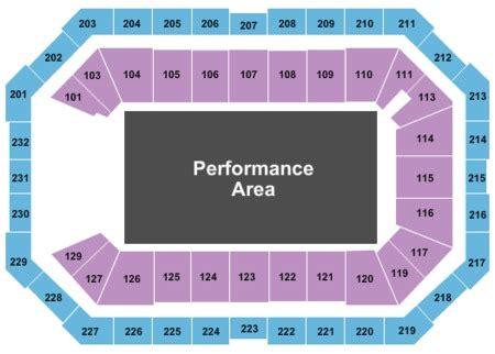 dickies arena   dickies arena seating charts
