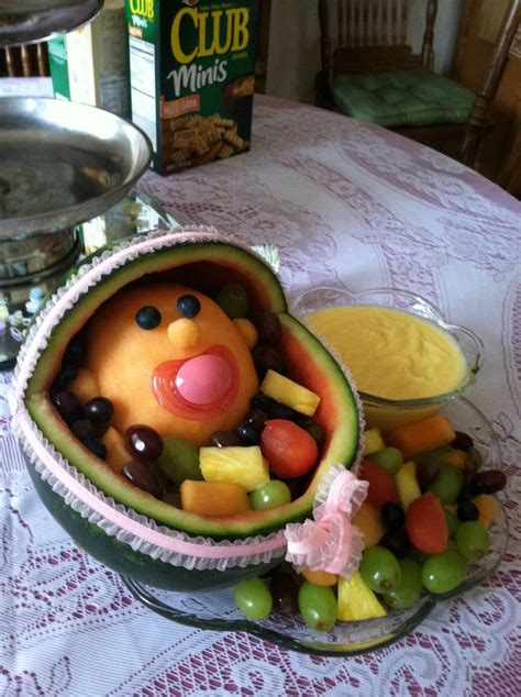 Baby Shower Fruit Bouquet by Fruit Arrangement For Baby Shower Edible