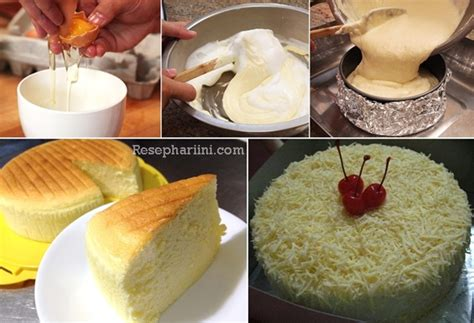 video membuat japanese cheese cake resep cotton japanese cheesecake enak dan super lembut