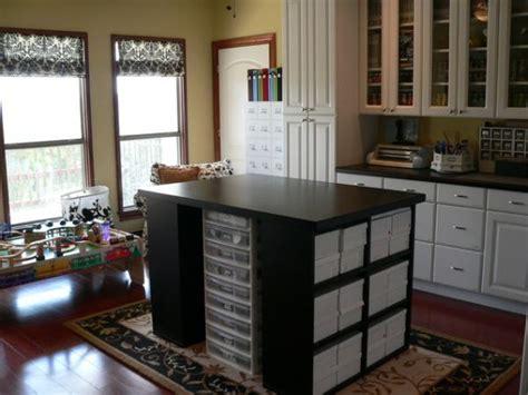craft room island organization 5 beautiful craft room design ideas that
