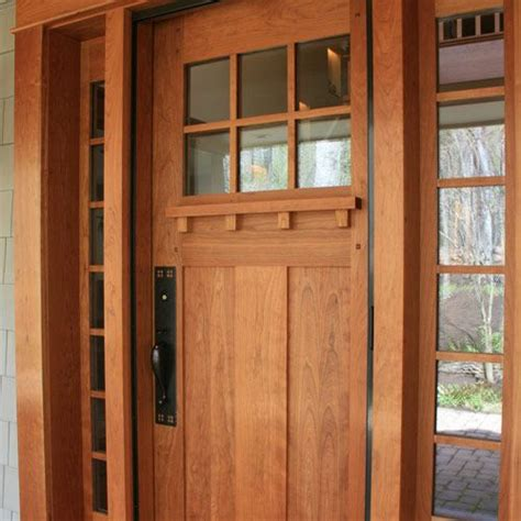 Craftsman Exterior Doors Best 25 Craftsman Front Doors Ideas On Pinterest Front Doors Exterior Doors And Craftsman