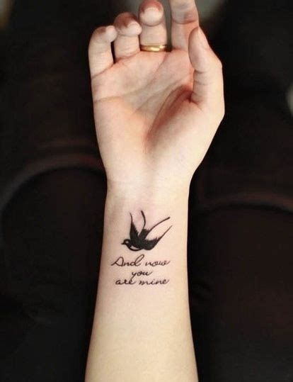 sparrow wrist tattoo small sparrow for my one day i n k