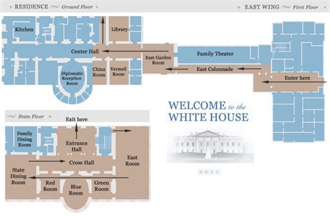 White House Replica Floor Plans by White House Floor Plan Residence Trend Home Design And Decor