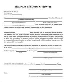 8 correction affidavit form free sample example