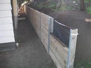 fairhaven wooden sleeper retaining wall 171 melbourne