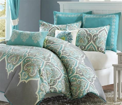 cute queen comforter set 7pc luxury bedding in a bag full
