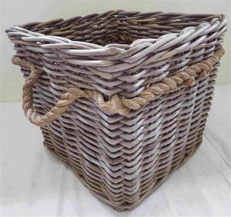 Keranjang Basket rattan grey kubu grey kobo basketwares basketry