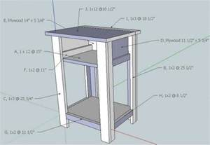 easy nightstand plans white build a simple nightstand diy projects