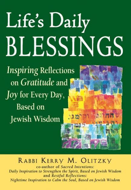 libro that day the rabbi life s daily blessings inspiring reflections on gratitude and joy for every day based on