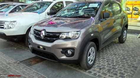 renault kwid silver renault kwid official review page 14 team bhp