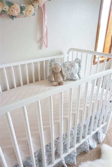 Vintage Style Crib Bedding by Floral Nurseries And Vintage Inspired On