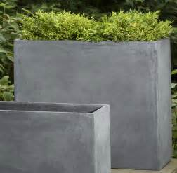 Ideas Design For Cement Planters Concept 13 Contemporary Concrete Planters Contemporary Concrete Planters And Sculpture By Adam