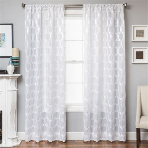 108 length curtains white sheer curtains 108 length bedroom curtains