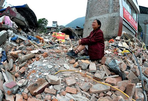 earthquake in china china earthquake sichuan province 2013 photos the big