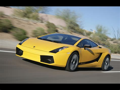 yellow lamborghini front 2007 lamborghini gallardo superleggera yellow front and
