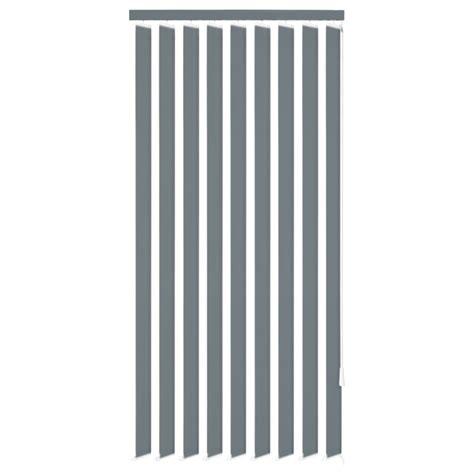 jalousie stoff der vidaxl vertikale jalousien grau stoff 150x250 cm