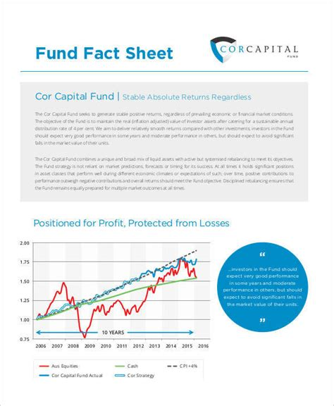 Fund Fact Sheet Template by 45 Printable Sheet Sles Templates Pdf Doc