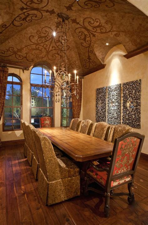 25 best ideas about tuscan dining rooms on