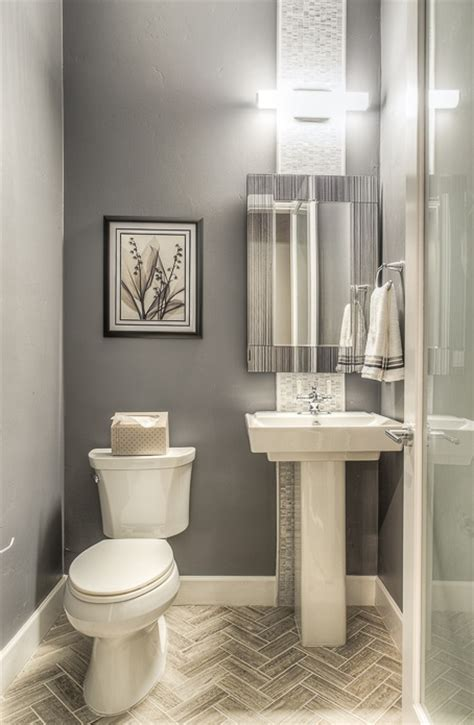 bathroom grey half bathroom ideas for modern bathroom modern powder room with majestic mirror contemporary
