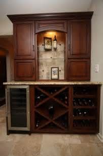 Wine Cabinet Kitchen Wine Cabinet Traditional Kitchen Cleveland By