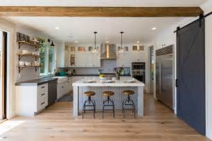 Flooring For Open Floor Plans Gorgeous Modern Farmhouse Kitchens