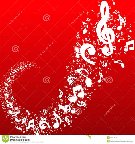 background design note red music note wallpaper wallpapersafari
