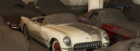 Vh1 Corvette Giveaway - 36 vintage corvettes finally rescued after 25 years in hiding roadtrippers