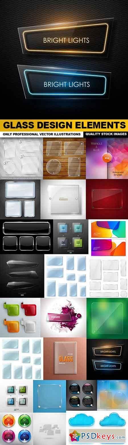 Glass Design Elements 25 Vector | glass design elements 25 vector 187 free download