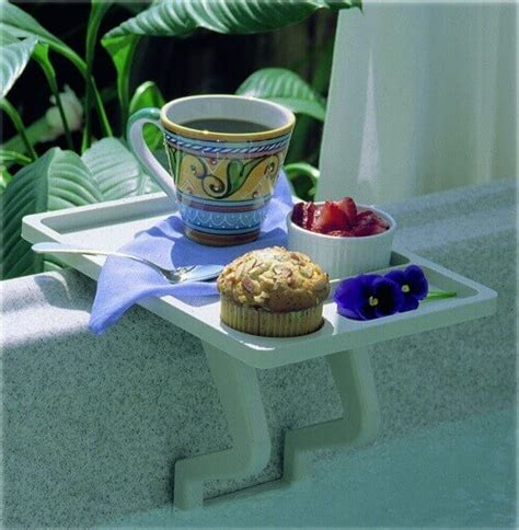 tub side table tub side table a must tub accessory
