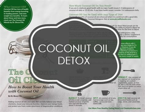 Coconut Pulling Detox Effects by A 3 Step Coconut Detox Written By Leading Expert Dr
