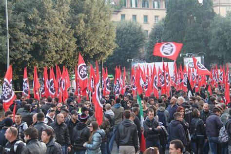 casa pound italia casapound anche i lucani a roma per dire no al governo