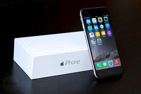 consomac l iphone 6 plus est pratiquement introuvable