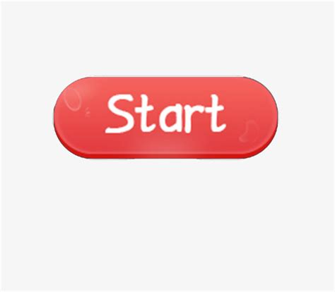 Of The Start 2 0 the start button button clipart start png image and
