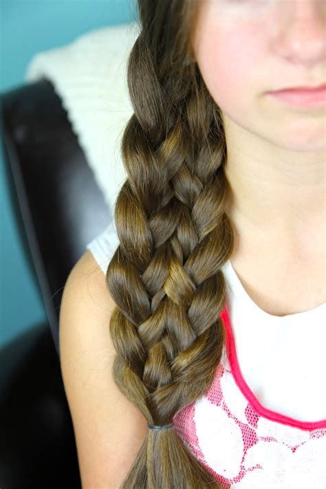 pretty hairstyles using braids lace up braid easy braid hairstyles cute girls hairstyles