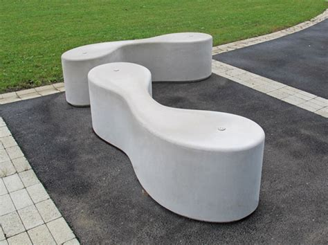 pavestone bench marlborough curved concrete outdoor bench seating