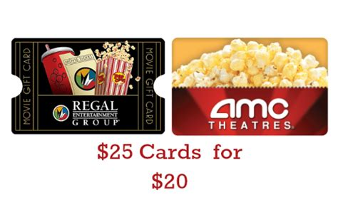 Movies Gift Card - staples deal 25 movie theater gift card for 20 southern savers