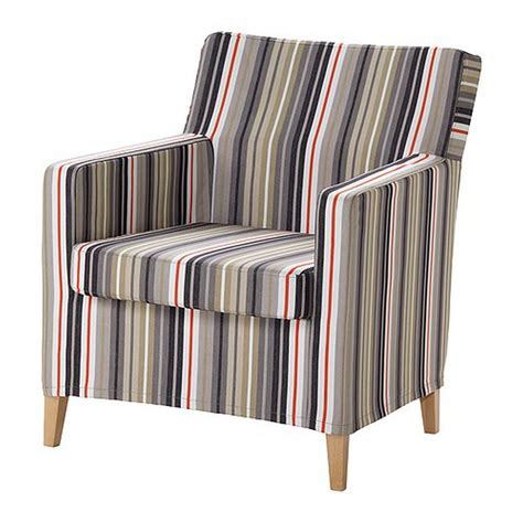 ikea karlstad armchair cover ikea karlstad chair slipcover armchair cover dillne gray beige multi stripes
