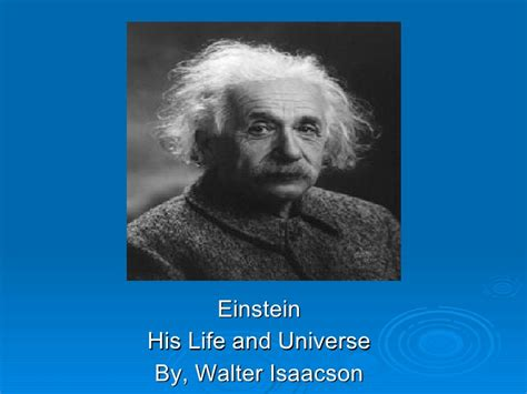 einstein biography isaacson einstein